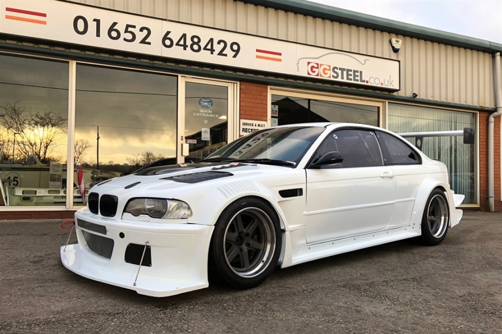Bmw E46 M3 Csl Race Track Car For Sale At Geoff Steel