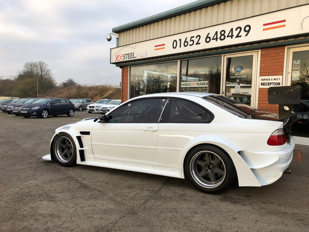 BMW E46 M3 CSL race/track car - For Sale at Geoff Steel Racing